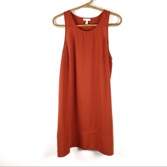 Leith Dresses Burnt Orange Shift Dress Large Poshmark